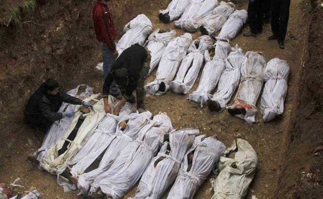 Peste 150.000 de oameni şi-au pierdut viaţa în conflictul din Siria