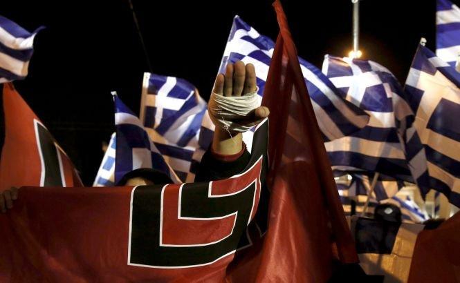Ultra-naţionaliştii greci au demonstrat într-un cartier al emigranţilor din Atena
