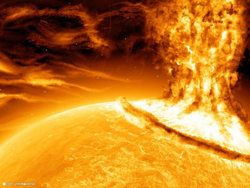 Comunicaţiile au fost ÎNTRERUPTE pe Terra din cauza unei EXPLOZII SOLARE uriaşe