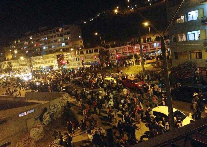 Nou cutremur, cu magnitudinea de 7,8 în Chile şi alertă de TSUNAMI. Un val de 43 de centimetri a ajuns într-un port din Peru