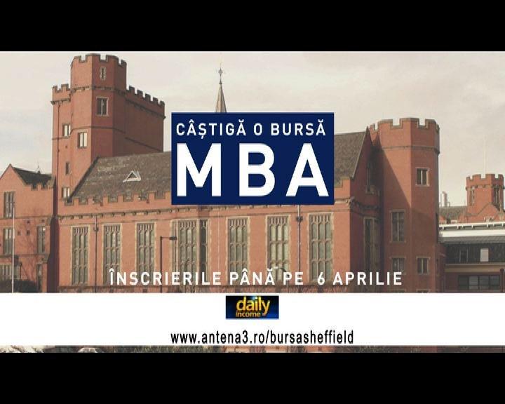Avem nevoie de profesionişti! Aplică pentru bursa MBA oferită de Daily Income şi Universitatea Sheffield