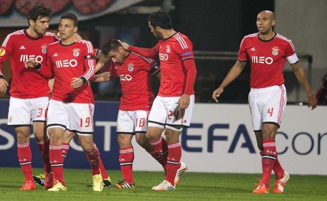 Benfica, Juventus, Basel şi FC Porto, învingătoare în meciurile tur din sferturile de finală ale Europa League