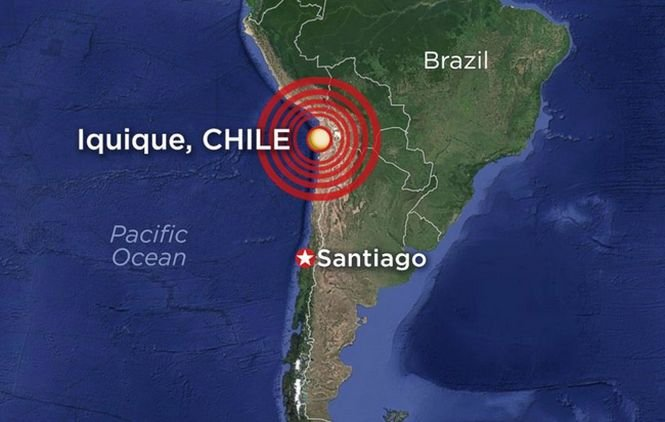 Un nou cutremur a avut loc în Chile