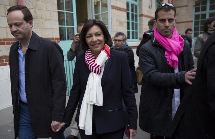 Socialista Anne Hidalgo, aleasă oficial PRIMA FEMEIE PRIMAR a capitalei franceze