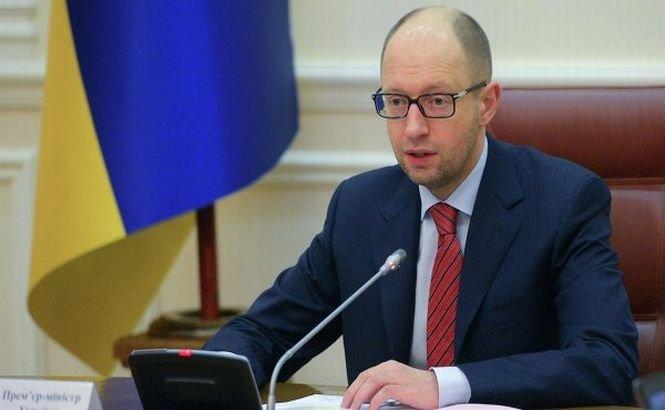 """Arseni Iaţeniuk spune că Rusia este în spatele incidentelor din estul Ucrainei: """"Moscova vrea DEZMEMBRAREA ţării!"""""""