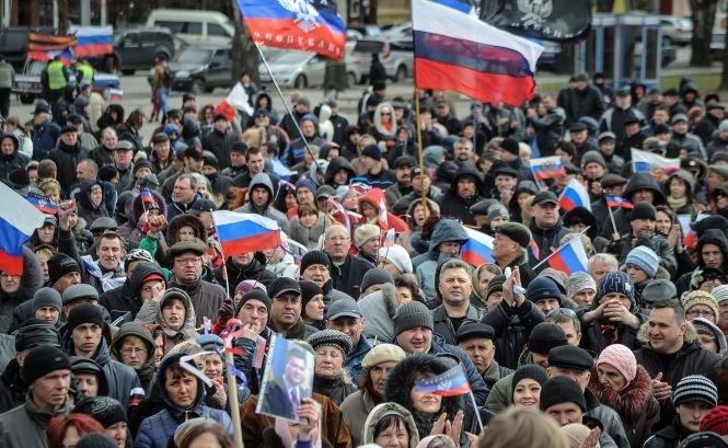 """Lider al activiştilor proruşi: """"Am format un Guvern provizoriu la Doneţk"""""""