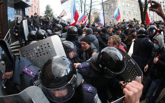 Rusia încearcă să destabilizeze Ucraina. Vezi cine spune asta