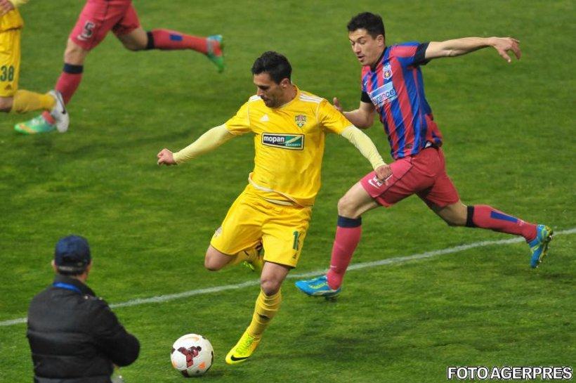 Steaua a suferit prima înfrângere în campionat, 0-1 cu FC Vaslui