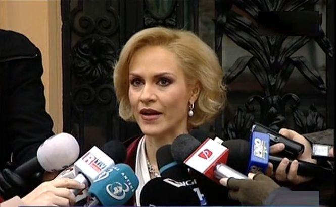Gabriela Firea, propusă purtător de cuvânt al USD la campania pentru PE şi prezidenţiale