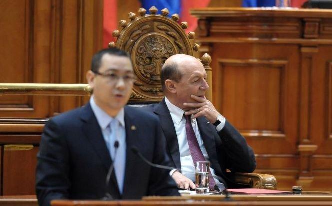 Ponta: Am finalizat PLÂNGEREA penală împotriva lui Băsescu, se depune azi. Preşedintele nu are voie să ameninţe un parlamentar