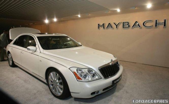 Grupul Daimler va relansa marca de lux Maybach