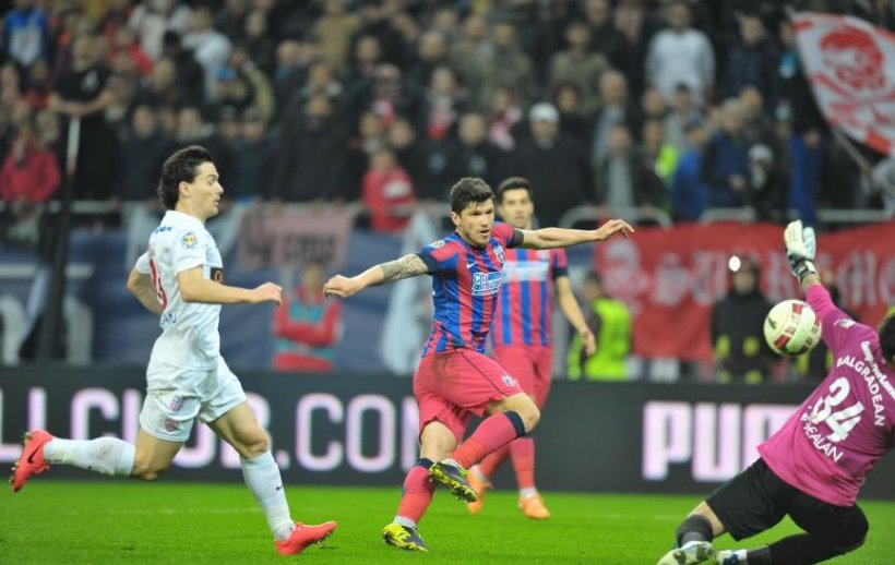 Steaua s-a calificat în finala Cupei României, după 1-1 cu Dinamo
