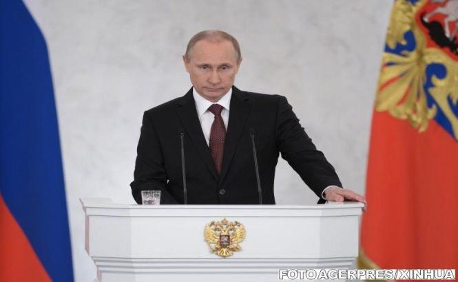 Vladimir Putin recunoaşte că militarii ruşi se aflau în Crimeea în timpul referendumului