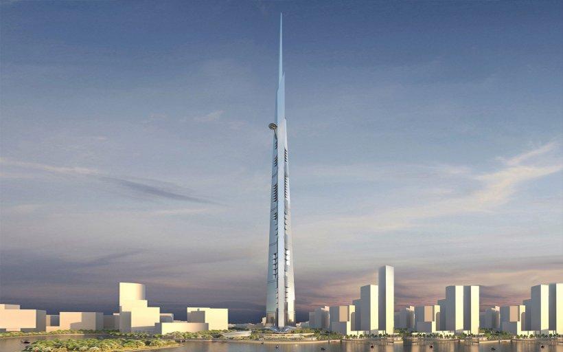 ARABII vor să intre în ISTORIE. Se apucă de construcţia celei mai înalte clădiri din lume, care va avea 1 KILOMETRU lungime