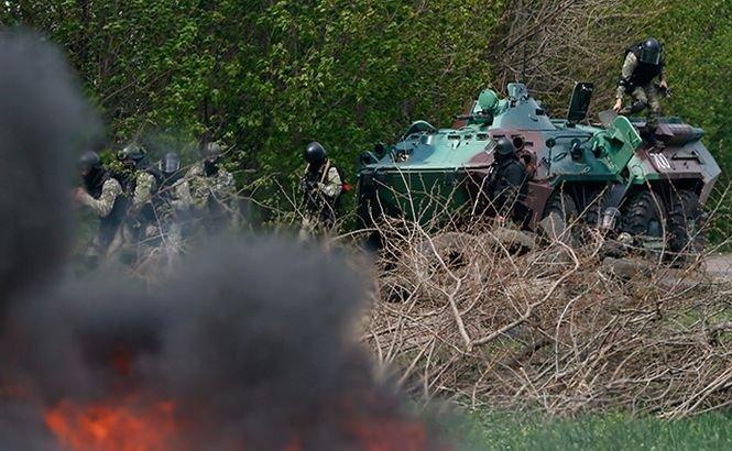 """Forţele speciale ucrainene au ucis cinci sepatişti în estul ţării. Ruşii anunţă manevre militare de """"descurajare"""" la graniţă"""