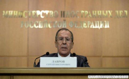 Lavrov: Kievul va trebui să răspundă în faţa justiţiei pentru crimele din estul Ucrainei