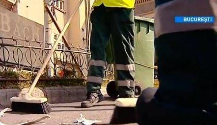 EXPERIMENT Antena 3: O zi din viaţa unui agent de salubritate
