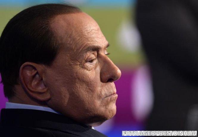 Berlusconi a început munca în folosul comunităţii, la un centru de bolnavi de Alzheimer