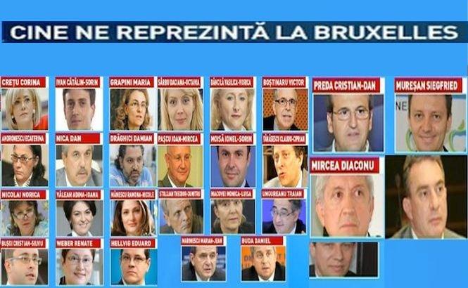 Cine sunt europarlamentarii români care ne reprezintă la Bruxelles în următorii cinci ani
