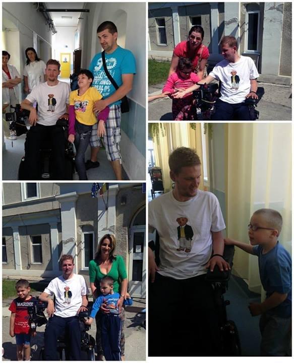Fundaţia Mihai Neşu vine în ajutorul copiilor cu dizabilităţi de la Spitalul Clinic de Recuperare Medicală Băile Felix