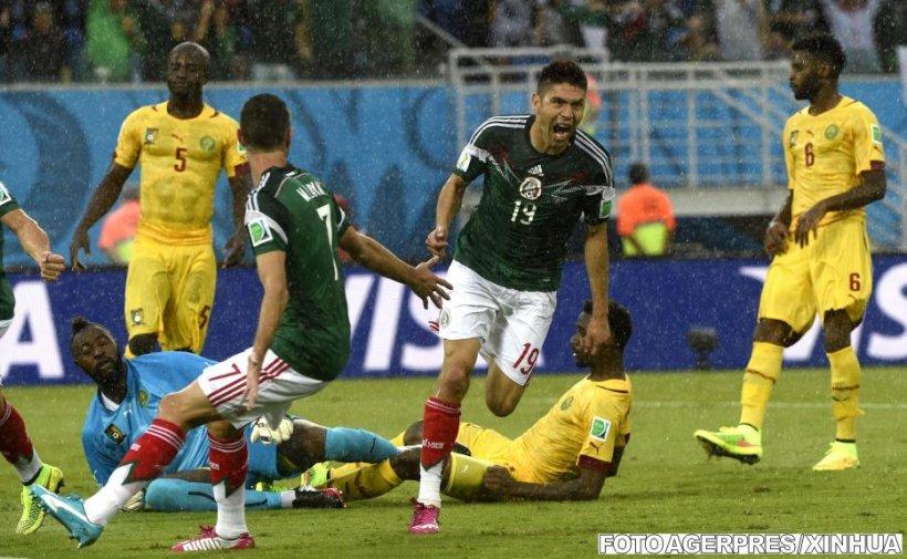 Mexic a învins Camerun cu 1-0, într-un meci cu trei goluri anulate