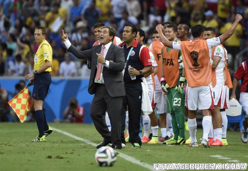 """Jorge Luis Pinto: """"Este o victorie istorică pentru Costa Rica"""""""