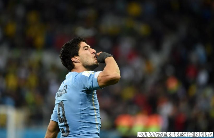 Omul zilei la Cupa Mondială: Luis Suarez
