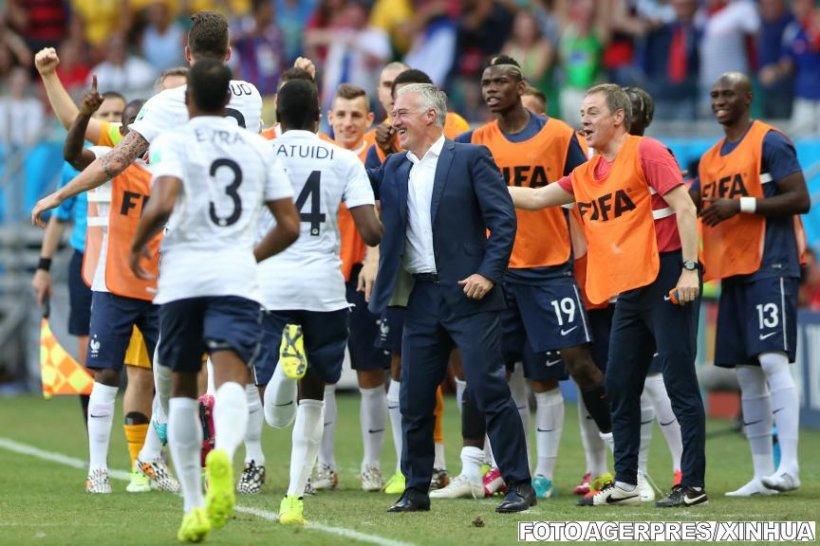 """Didier Deschamps: """"Franţa nu este favorită la Cupa Mondială"""""""