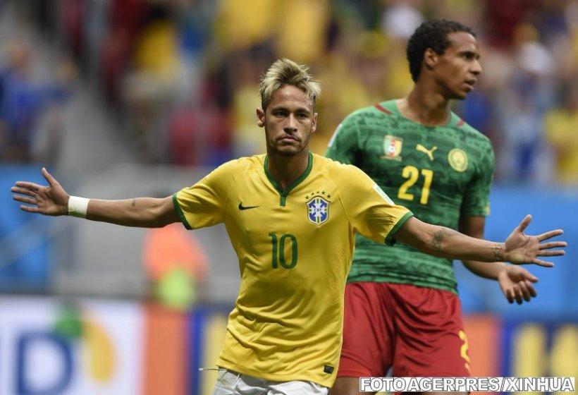 Brazilia şi Mexic câştigă şi se califică în optimile de finală ale Cupei Mondiale