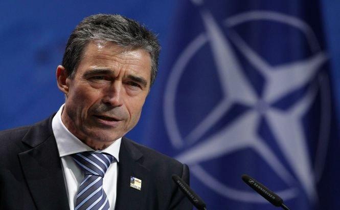 "Rasmussen: ""Câteva state NATO au asigurat Ucrainei sprijin tehnico-militar"""
