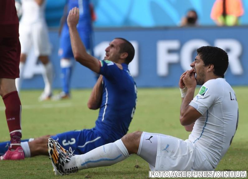 Pedeapsă dură pentru Luis Suarez. Atacantul uruguayan va fi suspendat 9 meciuri şi nu va putea fi implicat 4 luni în nicio activitate fotbalistică