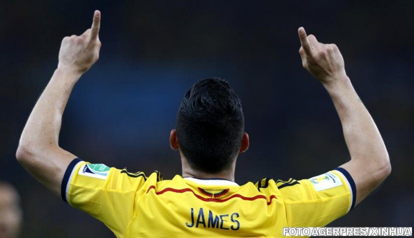 Oscar Tabarez: James Rodriguez este la fel ca Maradona