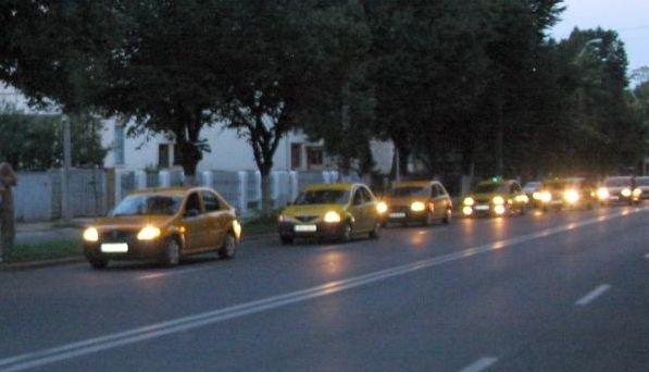 Protest INEDIT: Flori şi grafitti în gropile din drumurile gălăţene