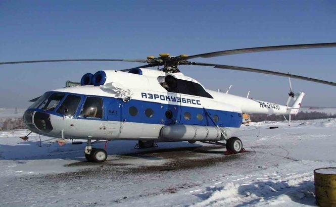 Un elicopter cu 17 persoane la bord s-a prăbuşit în Rusia