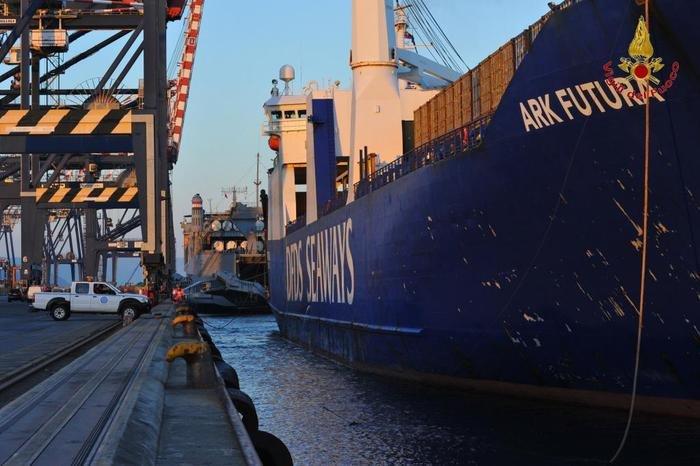 Armele chimice din Siria au ajuns într-un port italian