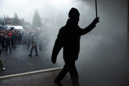 Poliţia braziliană a întrerupt o manifestaţie cu gaze lacrimogene şi gloanţe de cauciuc