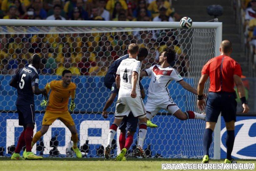 Germania este prima semifinalistă a Cupei Mondiale din Brazilia, după 1-0 cu Franţa