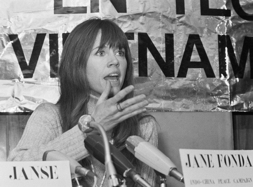 Actriţa Jane Fonda a făcut propagandă pentru Vietnamul comunist