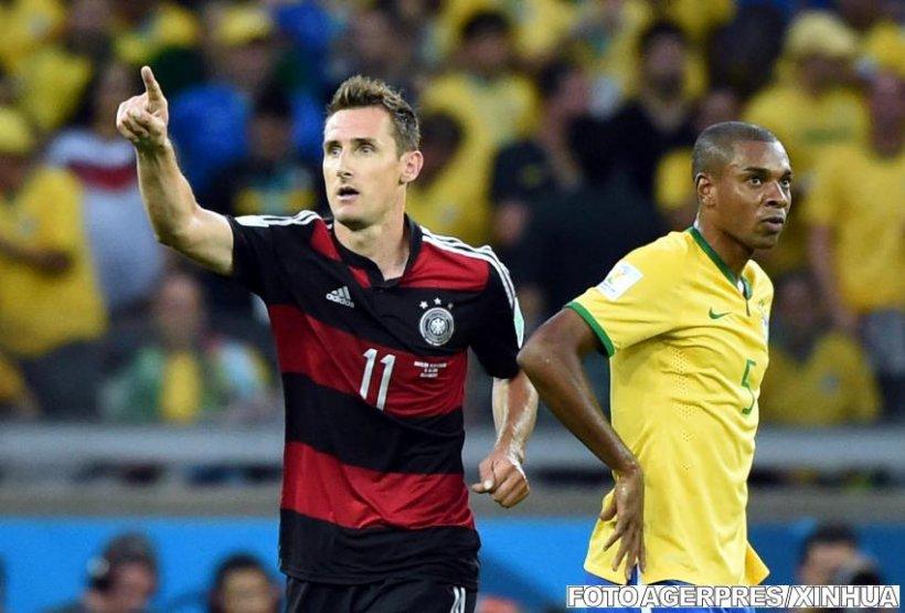 Omul zilei la Cupa Mondială. Miroslav Klose a devenit cel mai bun marcator din istoria competiţiei