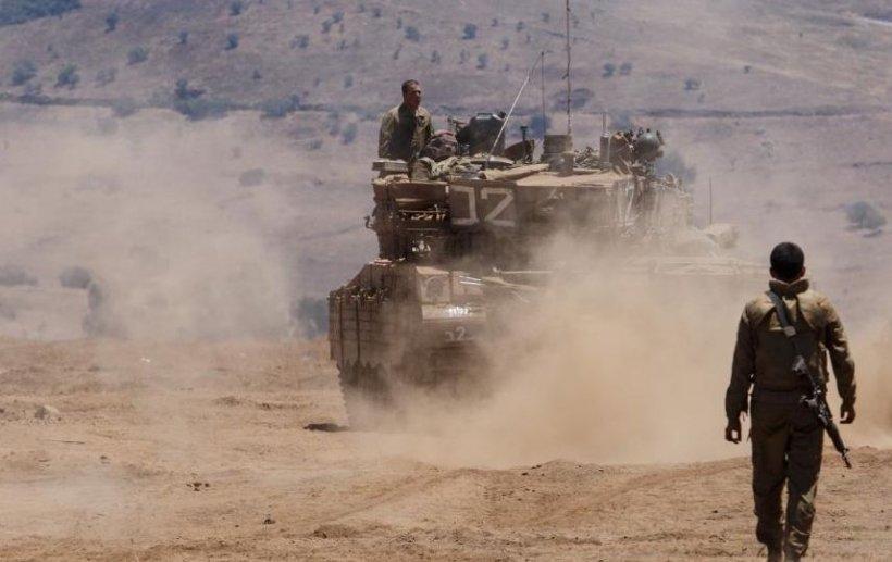 O rachetă lansată de pe teritoriul Siriei a explodat pe Platoul Golan