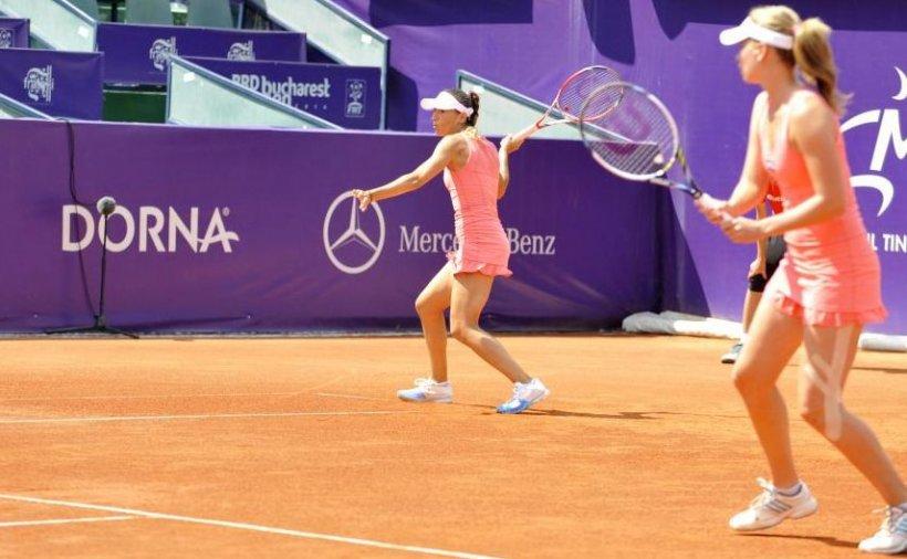 Perechea Elena Bogdan/Alexandra Cadanţu A CÂŞTIGAT finala de dublu a BRD Bucharest Open