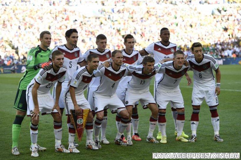 Germania este noua campioană mondială. A învins Argentina cu 1-0, după prelungiri