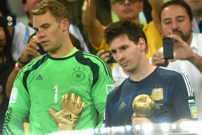Lionel Messi a primit Balonul de Aur al Cupei Mondiale. Neuer, cel mai bun portar. Pogba, cel mai bun tânăr jucător