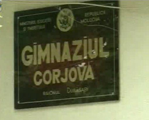 Gimnaziul cu predare în limba română din Corjova, ameninţat de Tiraspol cu închiderea