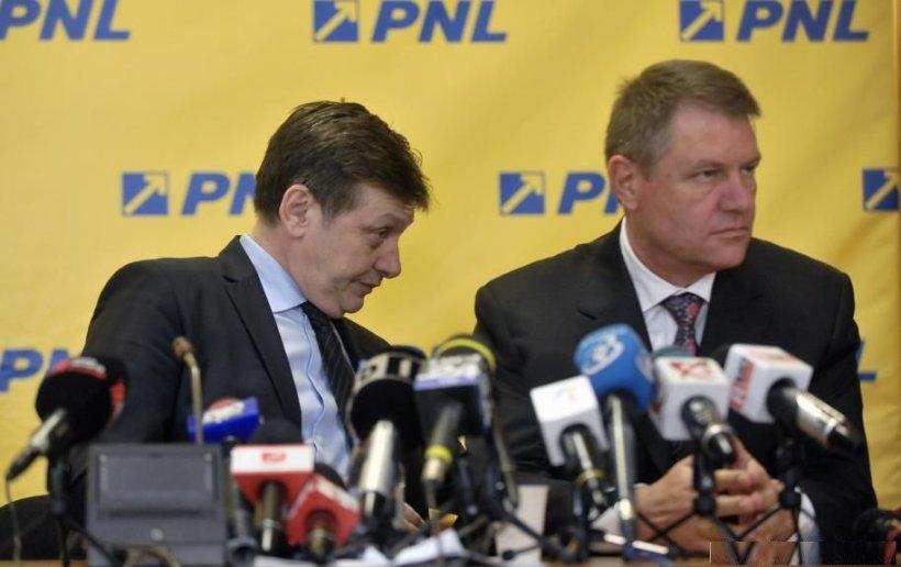 PNL îşi anunţă candidatul la prezidenţiale în 21 iulie. Antonescu şi Iohannis, FAVORIŢI