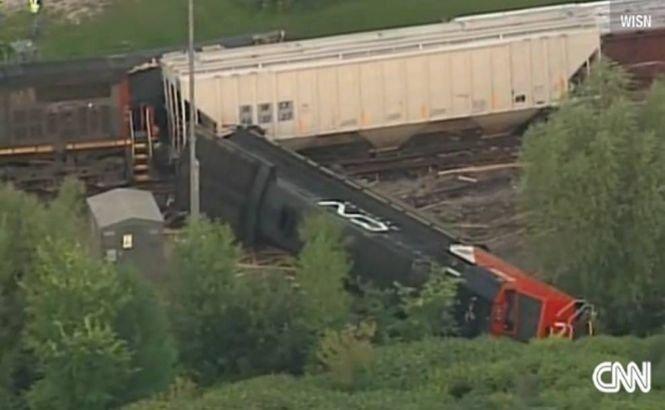 SUA. Un accident feroviar a provocat evacuarea a peste 100 de locuinţe