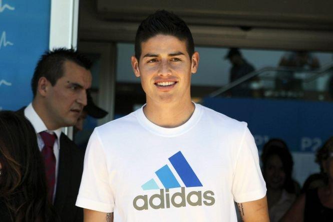 Real Madrid a anunţat transferul lui James Rodriguez, golgheterul Cupei Mondiale din Brazilia