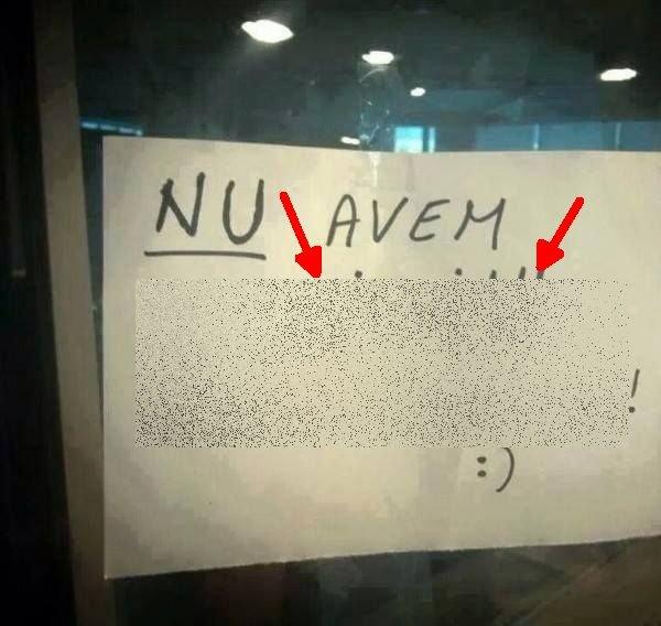 """Mesajul postat de un pub, pe uşa de la intrare: """"Nu avem..."""". Acum face înconjurul internetului"""
