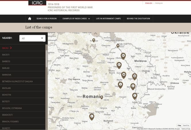 Crucea Roşie a publicat o bază de date despre milioanele de prizonieri din timpul Primului Război Mondial, inclusiv din România