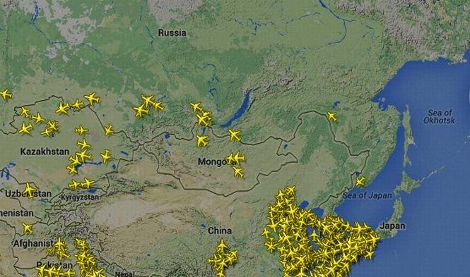 Rusia ar putea interzice survolarea teritoriului său de către avioanele companiilor aeriene care efectuează curse între Europa şi Asia